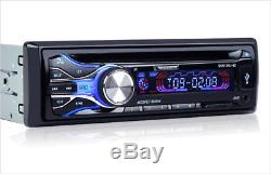 Car MP3 DVD Player Bluetooth Hands-free Music FM Radio AUX Audio Phone Chargeing