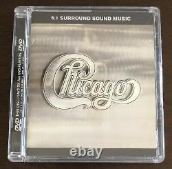 Chicago II Audiophile 5.1 Advanced Resolution Surround Sound DVD Audio Near Mint