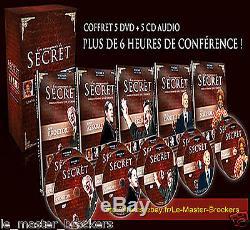 Coffret Les Enseignants du Secret (5 DVD + 5 CD-AUDIO)