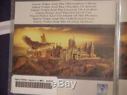 Complete Harry Potter Audio CD & Blu-ray DVD & both Fantastic Beasts 4KUHD DVDs