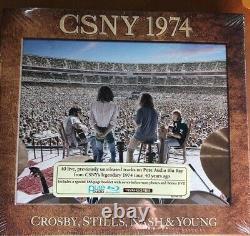 Crosby Stills Nash & Young CSNY 1974 NEW 3 Pure Audio Blu-ray Discs 1 DVD