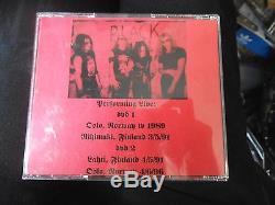 DARKTHRONE rare black metal bootleg DVD set 89 91 96