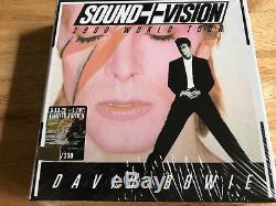 DAVID BOWIE RARE LIMITED EDITION NUMBERED 13 CDs + DVD WORLD TOUR 1990