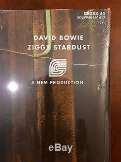 DAVID BOWIE ZIGGY STARDUST 40TH ANNIVERSARY VINYL & DVD AUDIO AUDIOPHILE