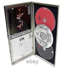 DEPECHE MODE VIOLATOR+ENJOY the SILENCE 2CD+DVD METAL BOX ONLY 8 WORLDWIDE NEW