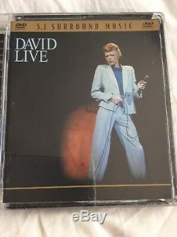 David Bowie David Live Dvd Audio