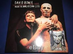 David Bowie Rare Limited Edition Numbered 9 CD 1 DVD Outside Tour 1995