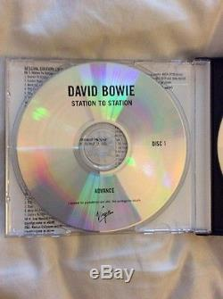 David Bowie Station To Station 4 Disc USA Promo Including DVD Audio