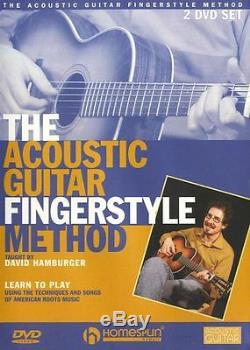 David Hamburger Acoustic Guitar Fingerstyle Method Learn to Play Music DVD