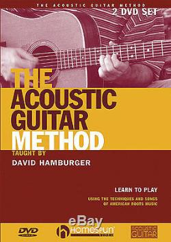 David Hamburger The Acoustic Guitar Method Learn to Play Country Music DVD