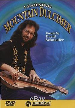 David Schnaufer Learning Mountain Dulcimer Learn to Play Beginner Music DVD