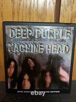 Deep Purple Machine Head 40th Anniversary box 4 cd 1 DVD 5.1 audio