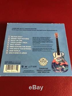 Dire Straits Brothers In Arms Dvd Audio + Cd Limited Edition rare