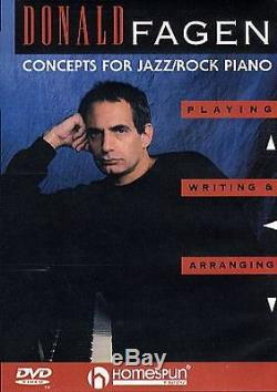 Donald Fagen Concepts for Jazz Rock Piano Learn to Play Keyboard Music DVD