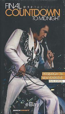 ELVIS PRESLEY FINAL COUNTDOWN TO MIDNIGHT BOOK/CD/DVD SET