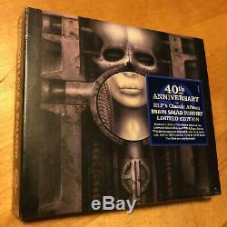 EMERSON LAKE & PALMER Brain Salad Surgery with Bonus Disc 2 CD DVD Audio BRAND NEW
