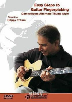 Easy Steps To Guitar Fingerpicking Learn to Play Folk Country Music DVD