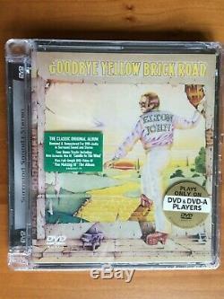 Elton John Goodbye Yellow Brick Road DVD Audio 2004 2-Disc Set
