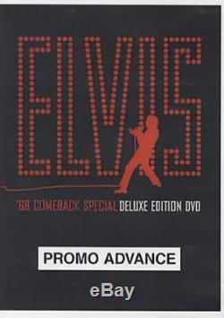Elvis Presley'68 Comeback Special USA DVD promo PROMO DVD SET RCA 2004