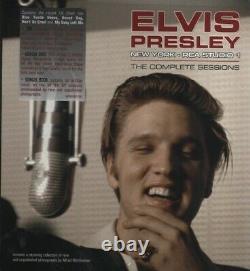 Elvis Presley Buch + CD + DVD New York RCA Studio 1 The Complete Sessions NEU