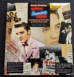 Elvis Presley Memphis Recording Sessions Vol 1 1953-54 Rare DVD Audio 7 Vinyl