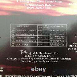 Emerson Lake & Palmer Trilogy 2 CD / DVD-A Deluxe Edition Brand New & Sealed