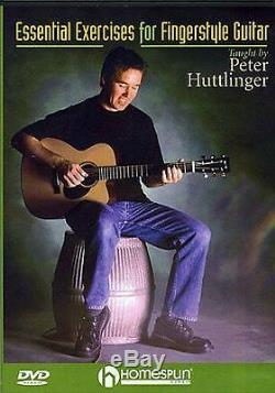 Essential Exercises For Fingerstyle Guitar Learn to Play Country Music DVD