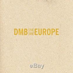 Europe 2009 (3 CDs + 1 DVD) Dave Matthews Band Audio CD