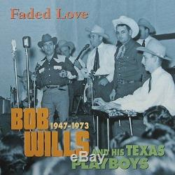 Faded Love 1947-1973 (13 Cd 1 DVD) Bob Wills & His Texas Playboys Audio CD