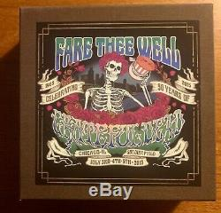 Fare Thee Well Grateful Dead Limited Numbered CD Box Set #9137/20,000