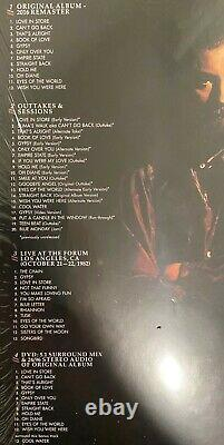 Fleetwood Mac MIRAGE SUPER DELUXE box set 3 cd 1 dvd 1 LP set IN SHRINK RARE