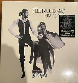 Fleetwood Mac RUMOURS SUPER DELUXE box set 4 cd 1 dvd 1 LP set IN SHRINK RARE