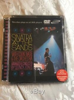 Frank Sinatra Sinatra At The Sands With Count Basie Orchestra Dvd Audio