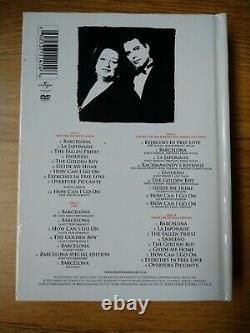 Freddie Mercury & Montserrat Caballe Barcelona Special Edition Deluxe 4 Disc Set