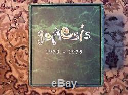 GENESIS 1970-1975 13 DISC DVD AUDIO + CD NTSC DTS 5.1 BOXED SET MINT NEW
