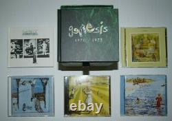 GENESIS complete SACD/DVD/CD Studio Box Sets plus the Live and The Movie Box set