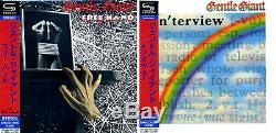 GENTLE GIANT Japan MINI LP 2 SHM CD + DVD-AUDIO SET TOCP-9508595086 new