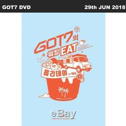 GOT7 Working EAT Holiday In JEJU 3DVD+100p Photobook+7p PhotoCard KPOP