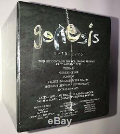Genesis 1970-1975 5 Album + DVDs + Booklet Box Set 2008 Atlantic Rhino Records