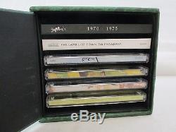 Genesis 1970-1975 Box Set 7 CD + 6 DVD Audio Remastered Peter Gabriel OOP