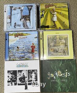 Genesis 1970-1975 Box Set 8 CD/ 6 DVD-Audio 5.1 Surround PROG Peter Gabriel OOP