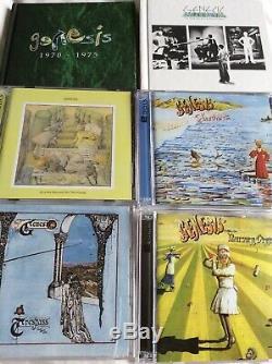 Genesis 1970 To 1975 Cd And Dvd Audio Boxset USA Rhino NOT SACD