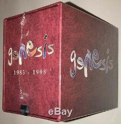 Genesis 1983 1998 SEALED 5 CD + 5 DVD Box Set 2007 R2 302460 Phil Collins