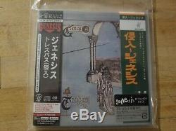 Genesis Trespass SACD CD+DVD w. Double OBI & Sticker TOGP 15020 NEW