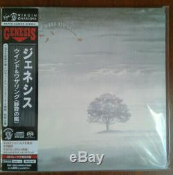 Genesis Wind & Wuthering Japan SACD CD/DVD Mini-LP TOGP-15012