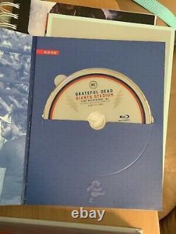 Grateful Dead Giants Stadium 14CD Box BLU-RAY Version HDCD Brand NEW Sealed