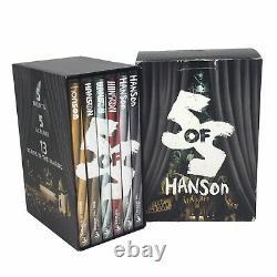 HANSON 5 of 5 Concert Series DVD Box Set Night 1,2,3,4,5 & Bonus CD RARE