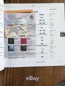 Heaven & Earth by King Crimson (18 CD / 2 DVD / 4 -Blu-Ray, 2019, Inner Knot)
