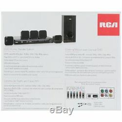 Home Theater System DVD HDMI Movies Music Speakers 8 Piece Subwoofer RCA New