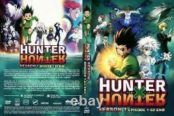 Hunter X Hunter (1999 Version + 2011 Version) All Region English Dub Version